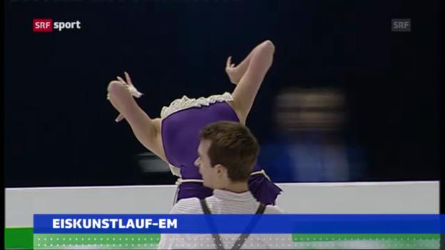 Video «EM in Zagreb («sportaktuell»)» abspielen
