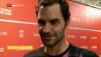 Video «Federer verpasst Cincinnati» abspielen