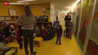 Video «Budget für ausserfamiliäre Kinderbetreuung » abspielen