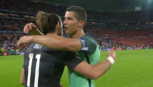 Video «Portugal zieht verdient in den Final ein» abspielen