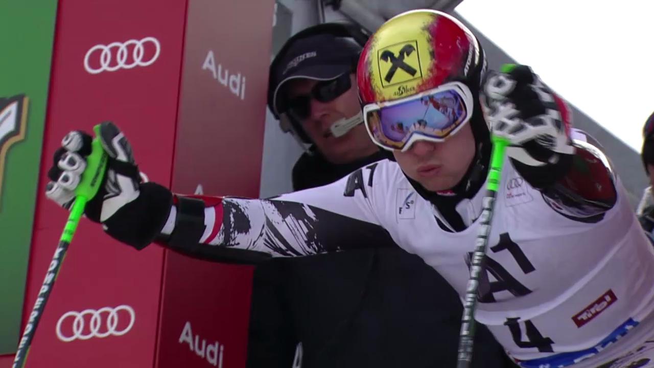 Ski alpin: 2. Lauf von Marcel Hirscher («sportlive»)