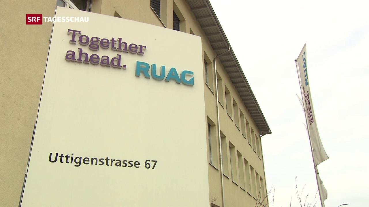 Ruag-Manager: Verdacht auf illegale Geschäfte mit Russland