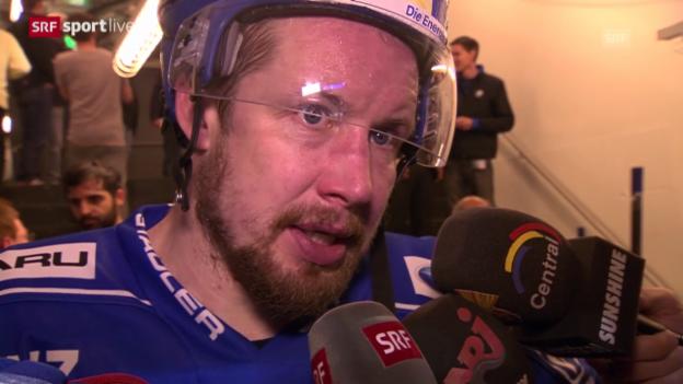 Video «Eishockey: Mathias Seger im Interview» abspielen