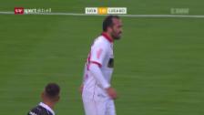 Video «Gekas mit Doppelpack gegen Lugano» abspielen