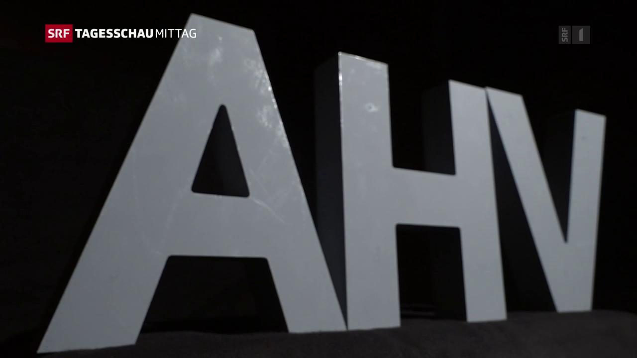 Gutes Jahr für die AHV