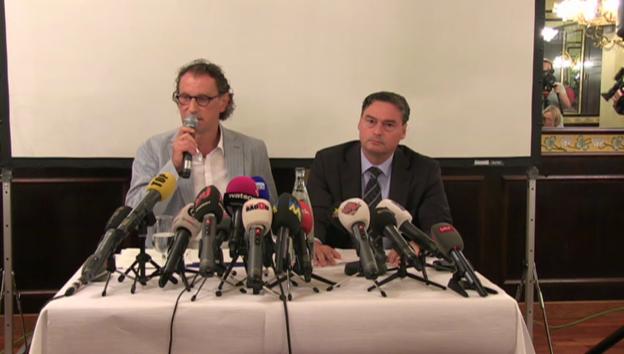 Video «Geri Müllers Auftritt vor den Medien» abspielen