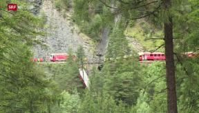 Video «Glück im Unglück: Zugunfall in Graubünden» abspielen
