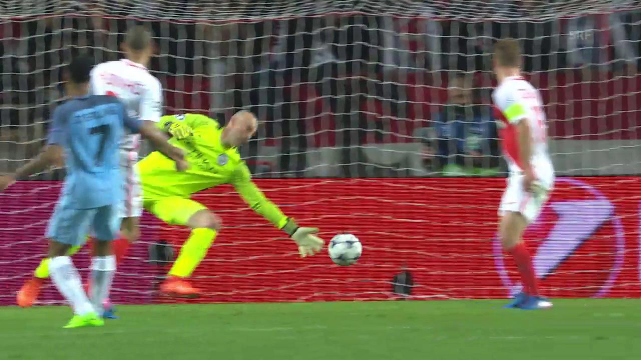 Monaco zieht in die CL-Viertelfinals ein