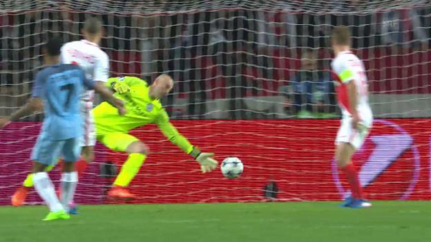 Video «Monaco zieht in die CL-Viertelfinals ein» abspielen