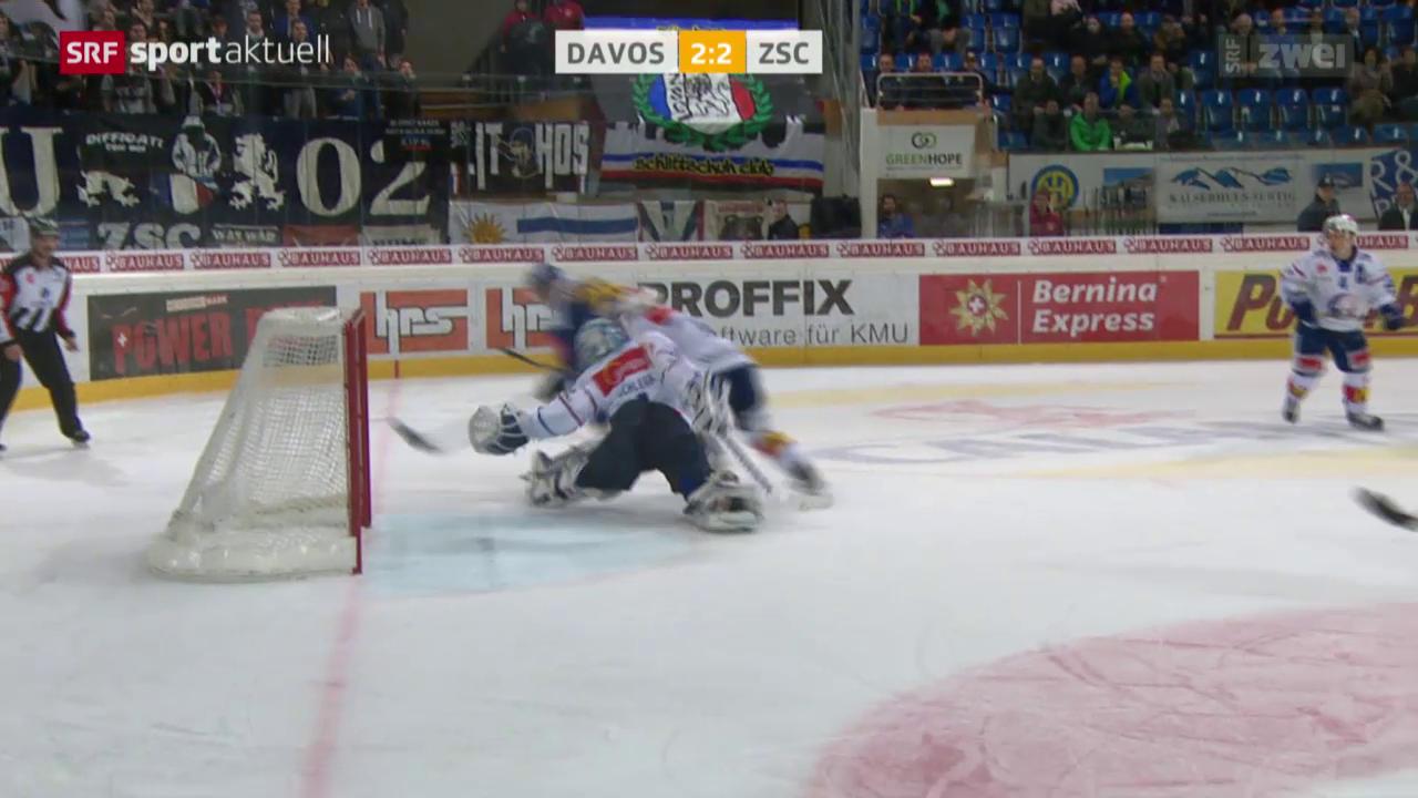 Eishockey: NLA, Davos-ZSC Lions