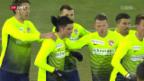 Video «Rückblick auf den 3:2-Auswärtssieg von Thun» abspielen
