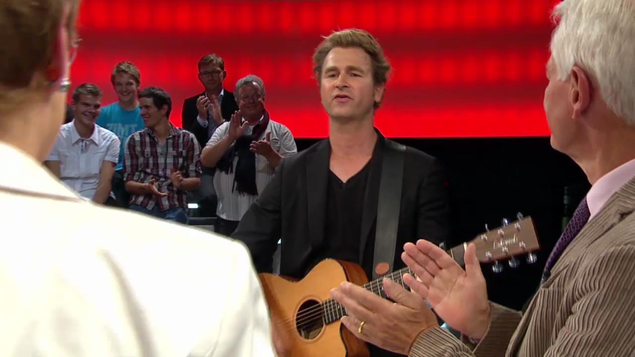 Musikalischer Abschluss der «Arena» mit Gustav