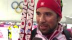 Video «Biathlon: Sprint 10 km, Interview Weger (sotschi direkt, 8.2.2014)» abspielen