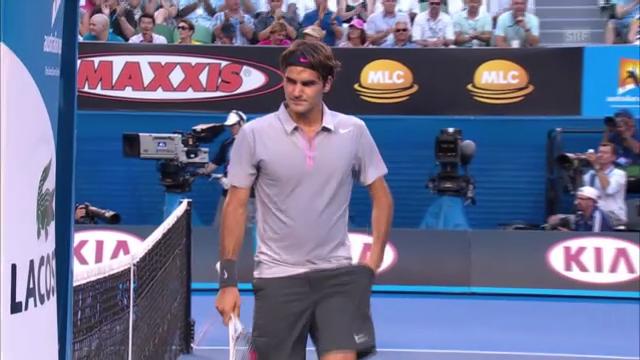 Australian Open: Federer - Dawidenko