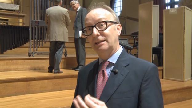 Video «David Titterington, Academy-Professor (Antwort auf Englisch)» abspielen