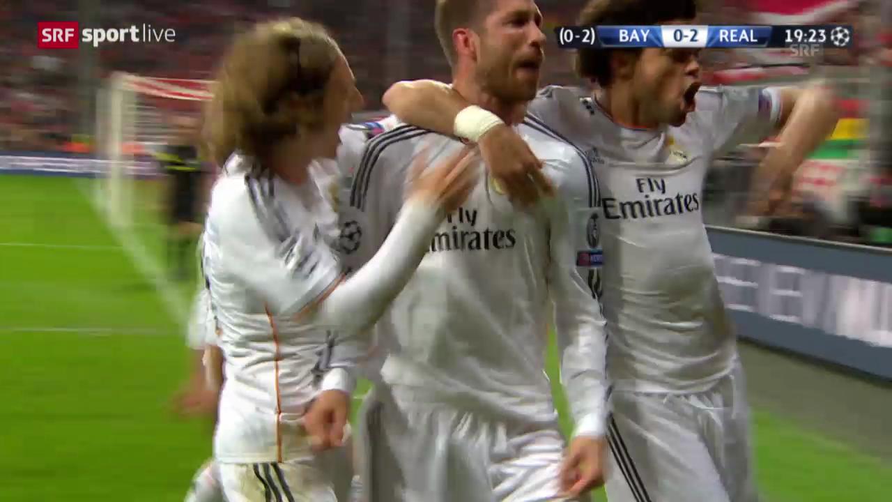 Fussball: CL-Halbfinal, Bayern München - Real Madrid, Highlights