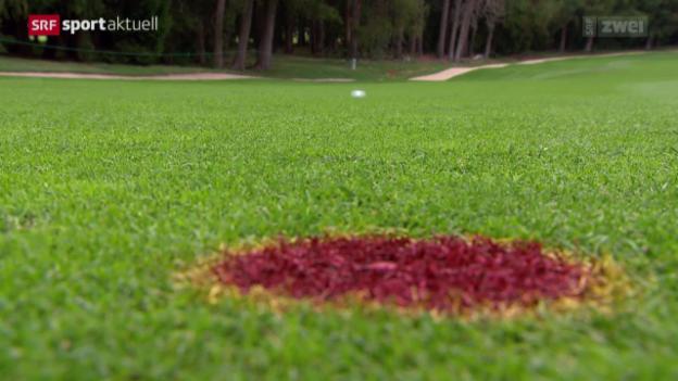 Video «Golf: Vorschau European Masters in Crans-Montana» abspielen
