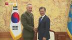 Video «US-General beschwichtigt im Nordkorea-Konflikt» abspielen