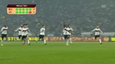 Video «Fussball: Besiktas-Liverpool, Penalty-Entscheidung» abspielen