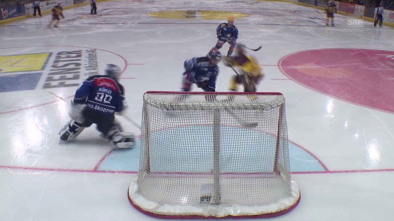 Eishockey: NLA, Playoff Halbfinal, 3. Runde, ZSC - Genf, Live Highlights