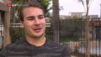 Video «Eishockey: NHL-Schweizer Timo Meier» abspielen
