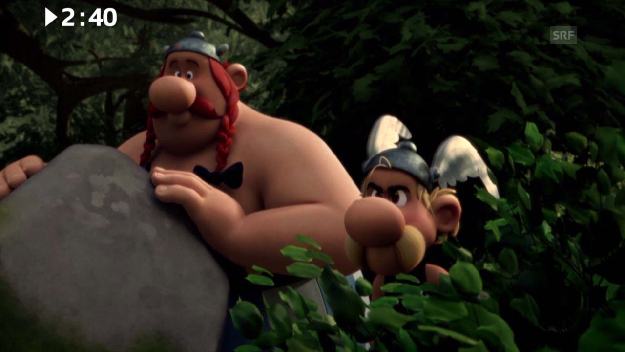 Keine 3 Minuten: «Astérix - Le Domaine des Dieux»