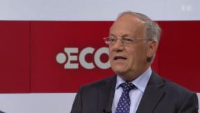 Video «Interview: Bundesrat Johann Schneider-Ammann» abspielen