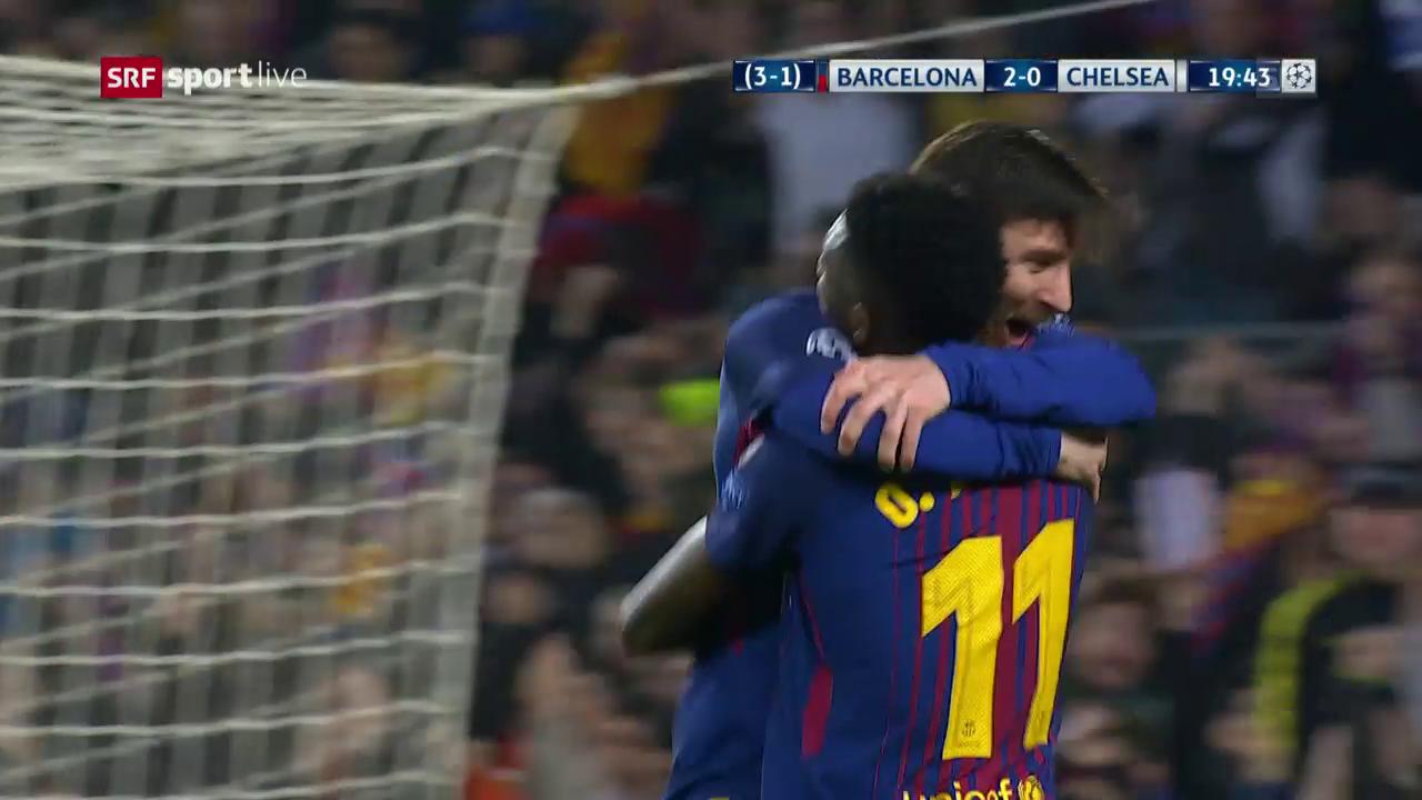 Live-Highlights Barcelona - Chelsea