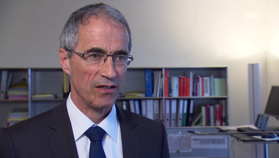 Serge Gaillard, Direktor der Eidgenössischen Finanzverwaltung, zu den Negativzinsen