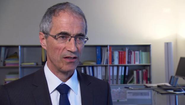 Video «Serge Gaillard, Direktor der Eidgenössischen Finanzverwaltung, zu den Negativzinsen» abspielen
