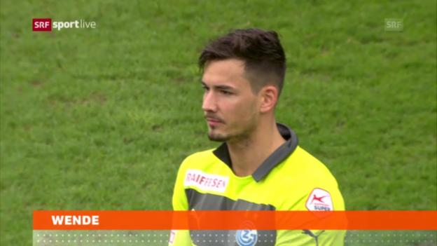 Video «Fussball: Sperren gegen GC-Keeper Bürki aufgehoben» abspielen
