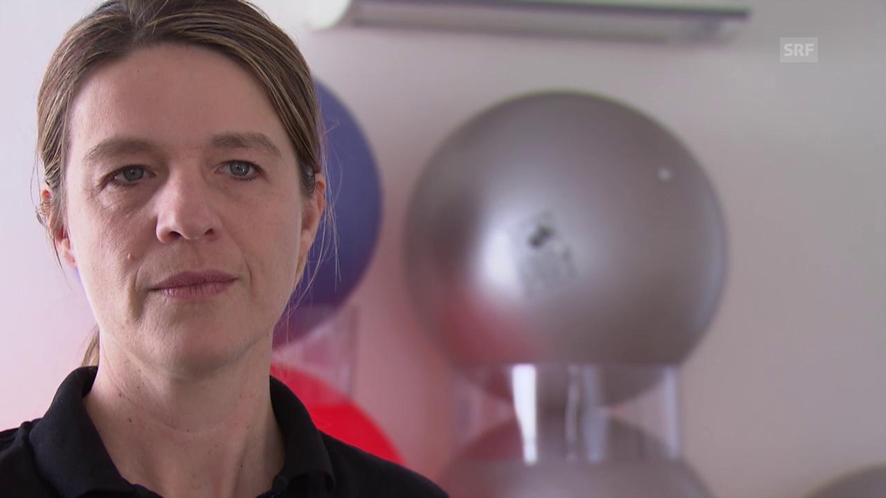 Krämpfe durch Fehlhaltungen (Physiotherapeutin Dina Buchs)