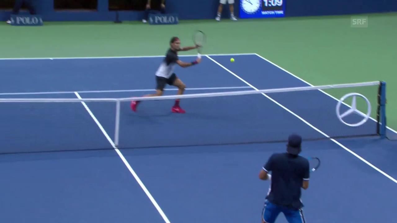 Federer lässt Lopez keine Chance