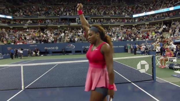 Video «Tennis: Serena Williams vor den US Open» abspielen