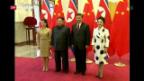Video «Kim Jong-un besucht China» abspielen