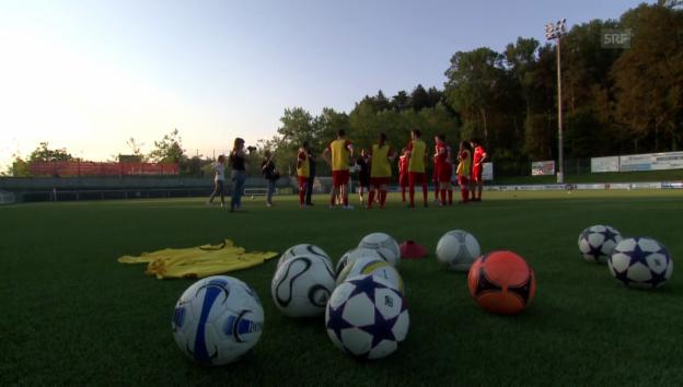 Video ««SRF 3 Futebol Total»: Promis und Radio-Moderatoren im WM-Fieber» abspielen