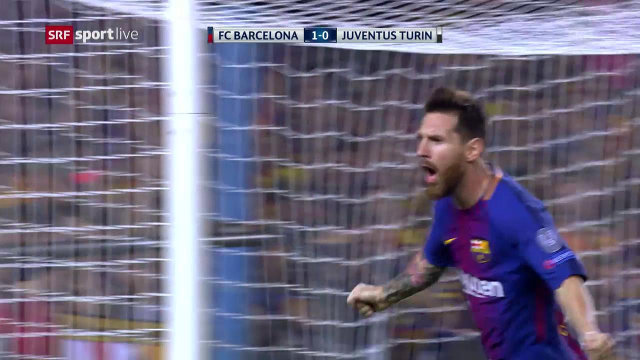 Messis Doppelpack: Barcelona schlägt Juventus klar
