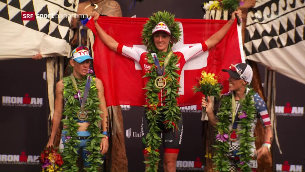 Daniela Ryf deklassiert die Konkurrenz in Hawaii