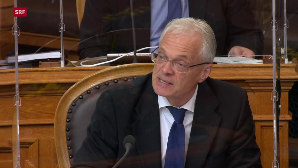 Thomas Minder (parteilos/SH): «Das Spendeverhalten gibt den wahren Spendewillen besser wider als irgendwelche Umfragen»