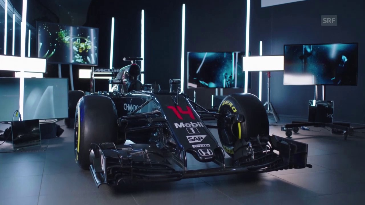 Präsentation des neuen McLaren W07 (Quelle: SNTV)