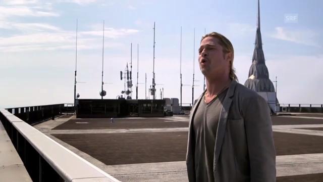 Brad Pitt wirbt jodelnd für «World War Z»