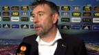 Video «Fussball: Interview mit Urs Fischer» abspielen