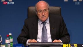 Video «Medienkonferenz des Fifa-Exekutivkomitees» abspielen