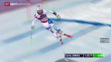 Video «Ski alpin: Weltcup, Männer-Abfahrt in Wengen» abspielen
