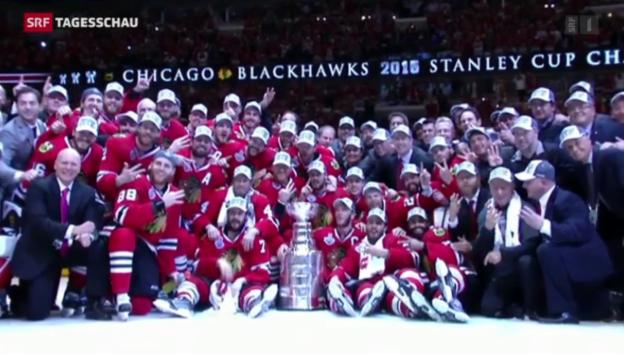 Video «Chicago gewinnt Stanley Cup» abspielen