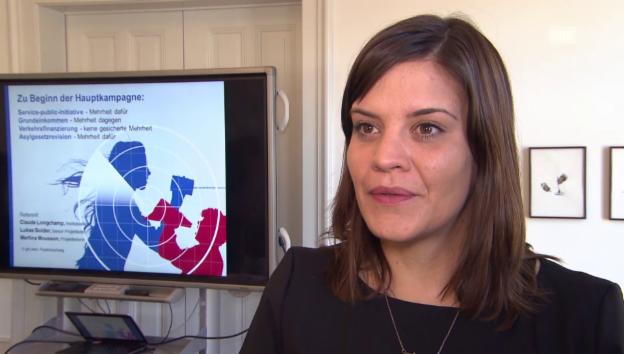 Video «Martina Mousson: Weshalb das Volk derzeit für die Initiative ist» abspielen