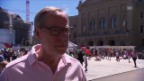 Video «Alexander Tschäppät: «Wollen Tour mit Würde und sportlicher Freude durchführen»» abspielen