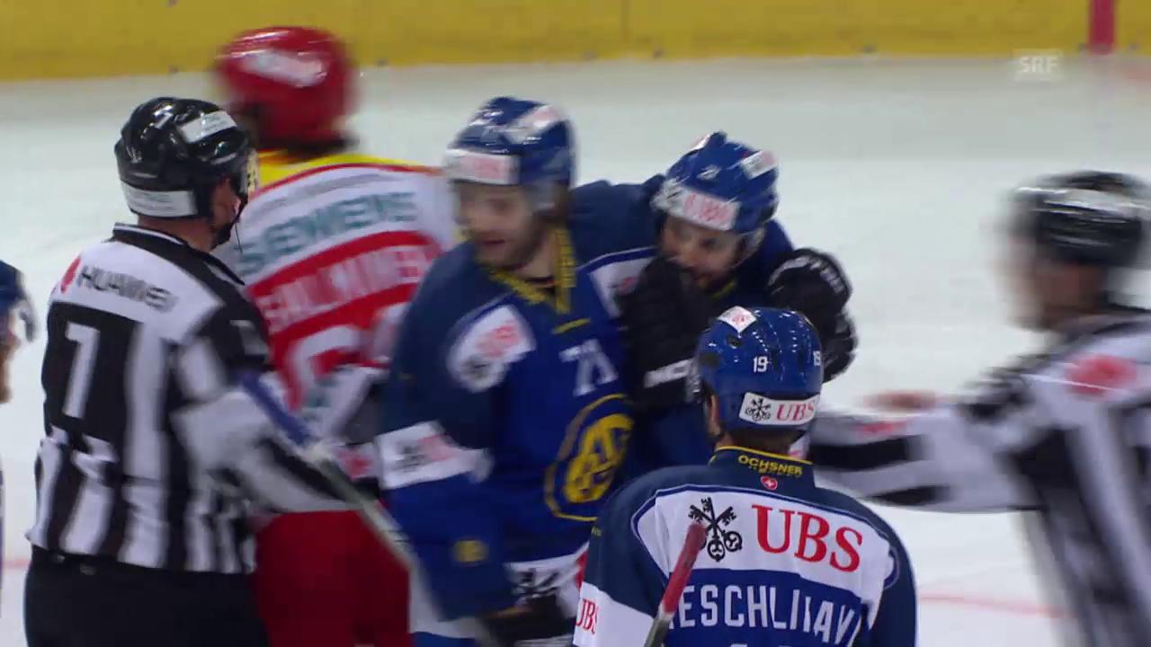 Eishockey: Spengler Cup, Jokerit - Davos, 3:4 durch Jörg