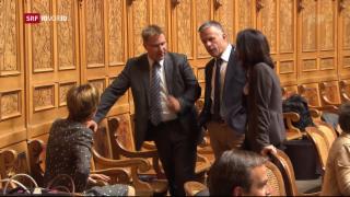 Video «Das Bundesparlament berät sich über die Altersreform» abspielen