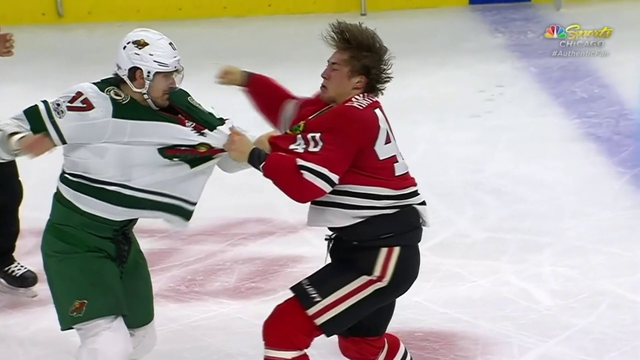 «That's a great Punch»: Hayden vermöbelt Foligno